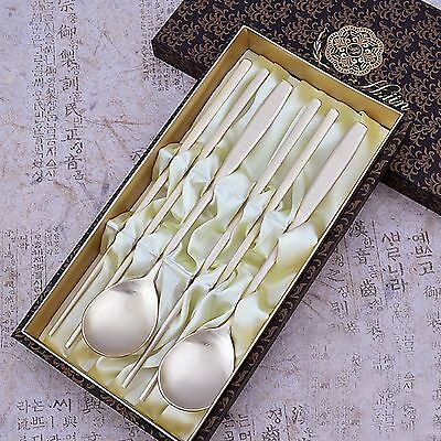 High-quality Korean Spoon and Chopsticks Set table Noble Classic Table Gift Item