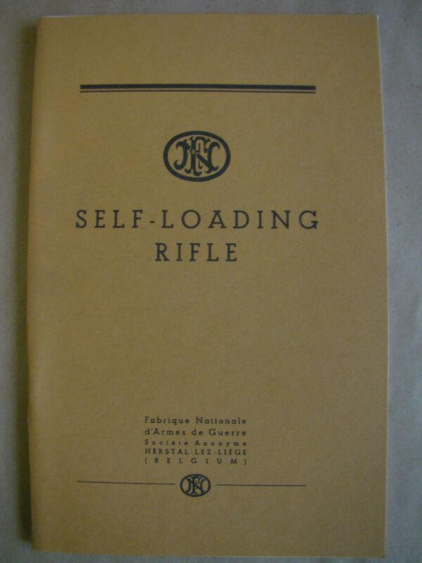 FN FN49 Owners Manual