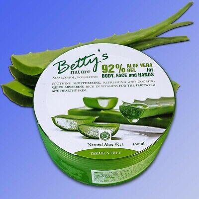 Betty's nature - Aloe Vera Gel for Body, Face & Hands, Körper...