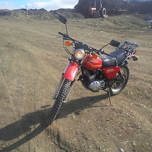 1981 honda xl 250s in great shape runs fantastic