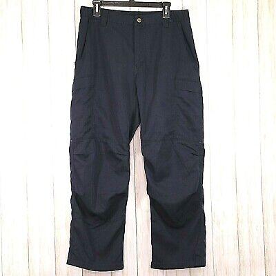 Nomex Iiia Mens Navy Pants Size 34 X 29 Flame Resistant Textile