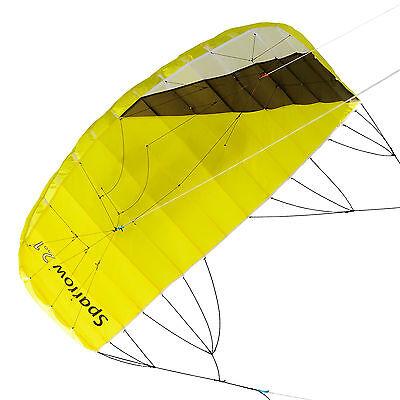Lenkmatte Qeedo Sparrow 2.1 Trainer Kite Lenkdrachen 4 Leiner Powerkite