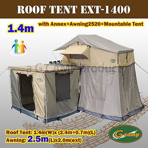 G-CAMP-1-4m-EXT-ROOF-TOP-TENT-TRAILER-4WD-4X4-CAMPING-CAR-RACK-ANNEX-AWNING