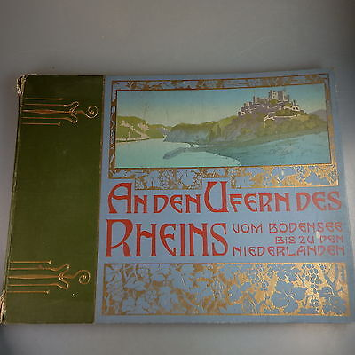 Fotoband: An den Ufern des Rheins - vom...  um 1905 (41909)
