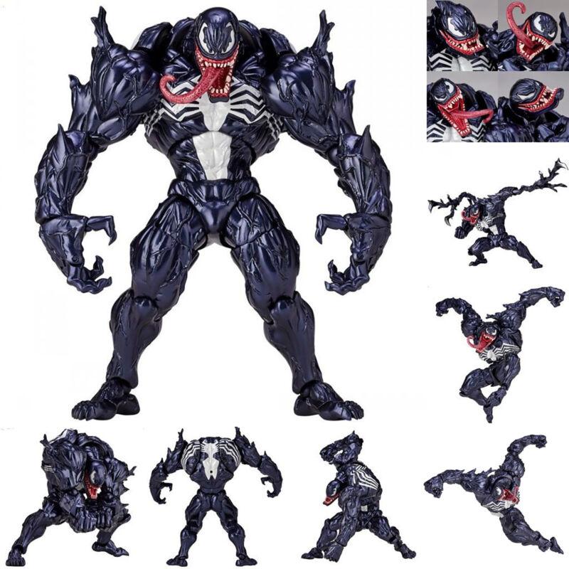 marvel spider man venom edward brock revoltech