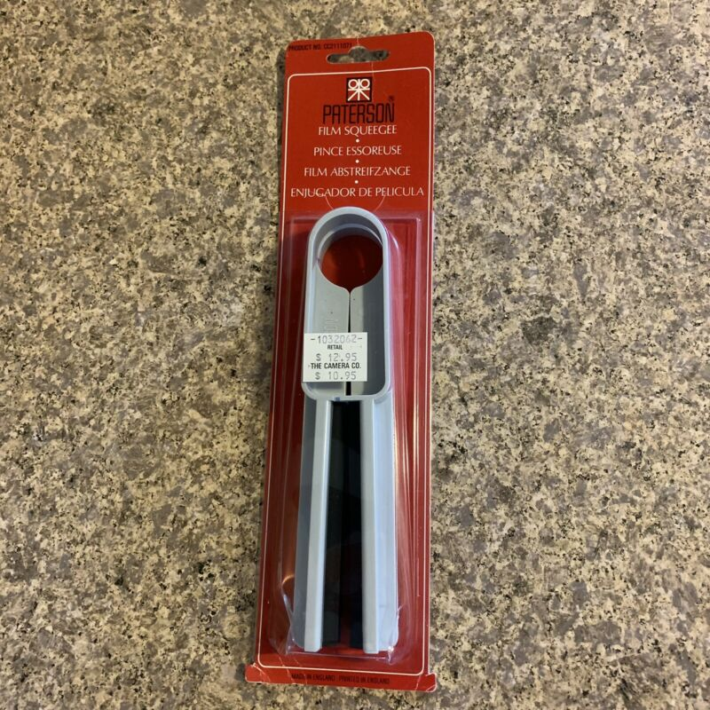 Paterson Photographic Film Squeegee New NIP
