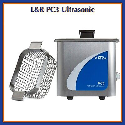 Lr Pc3 Stainless Steel Ultrasonic Cleaner With Basket Included Pn 1172