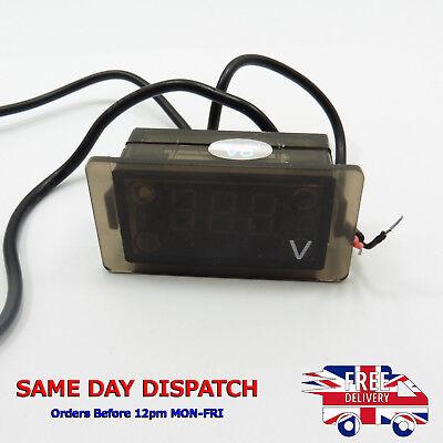 Waterproof 0.36 Dc 5v-30v Led Digital Panel Voltmeter Voltage Tester Meter