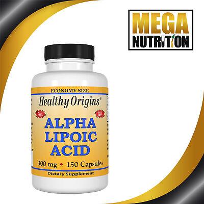 Healthy Origins Alpha Lipoic Acid 300mg 150 Capsules | Metabolism Antioxidants