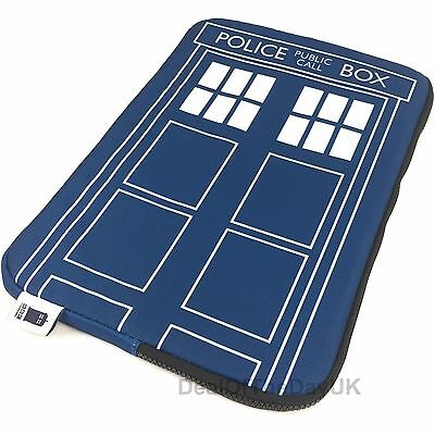 "New Dr Who Tardis 13 Inch Laptop Case 13"" 13.3 Macbook Pro Sleeve Notebook Pouch"