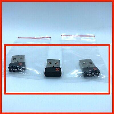 3X LOGITECH USB DONGLE EMPFÄNGER MX MASTER CRAFT TASTATUR MAUS KEYBOARD MOUSE ##