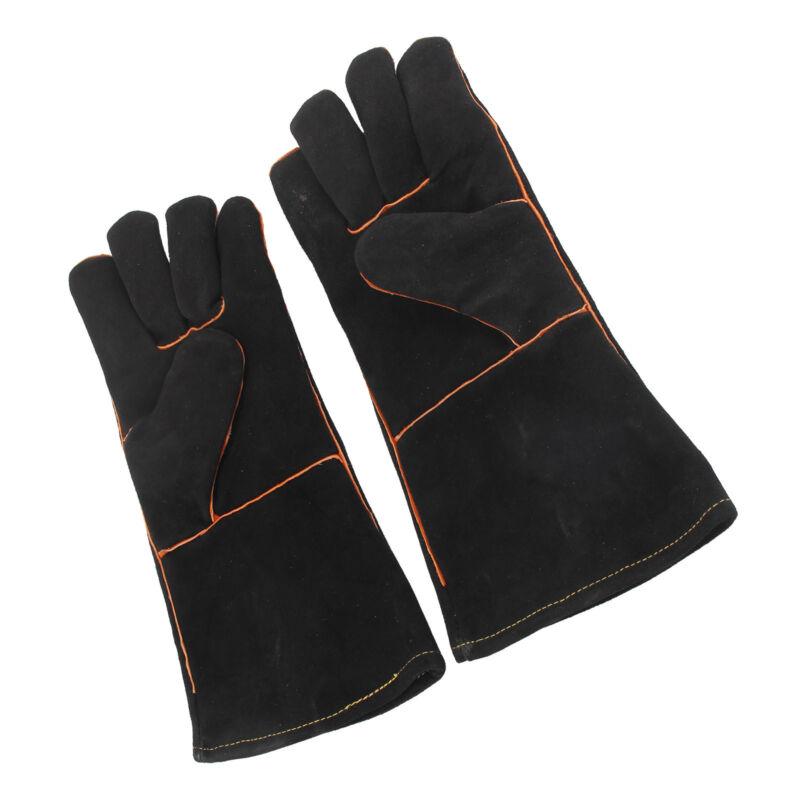 Kevlar Reinforced Lined 5 x Premium Welders Welding Gloves Gauntlets