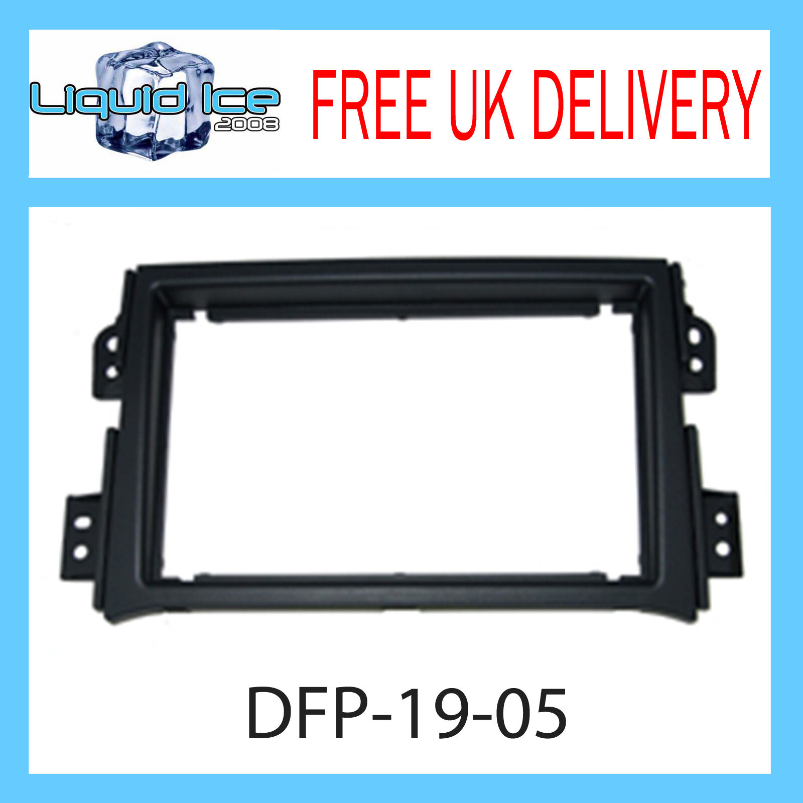 Autoleads FP-19-05 Vauxhall Agila 08/> Car Stereo Single Din Facia Fascia Panel