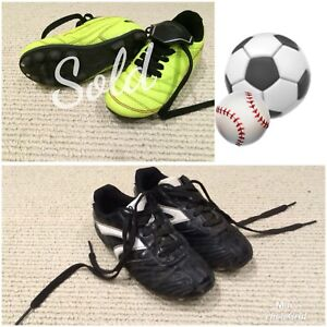 Soccer/baseball cleats  | size 1