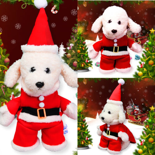 Christmas Pet Vest Dog Puppy Hoodie Sweater Jacket Cute Outfit Clothes Costume 2