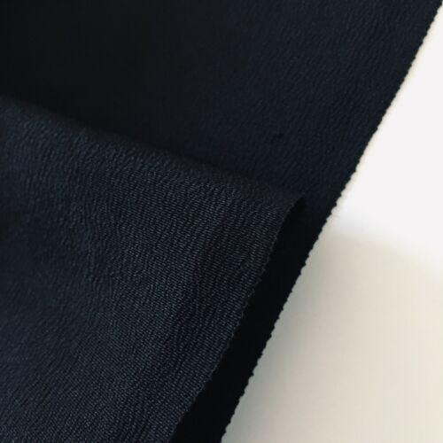 Noir Tomesode Skinny #B 6x35 Black Vintage Silk Japanese Kimono Fabric Panel