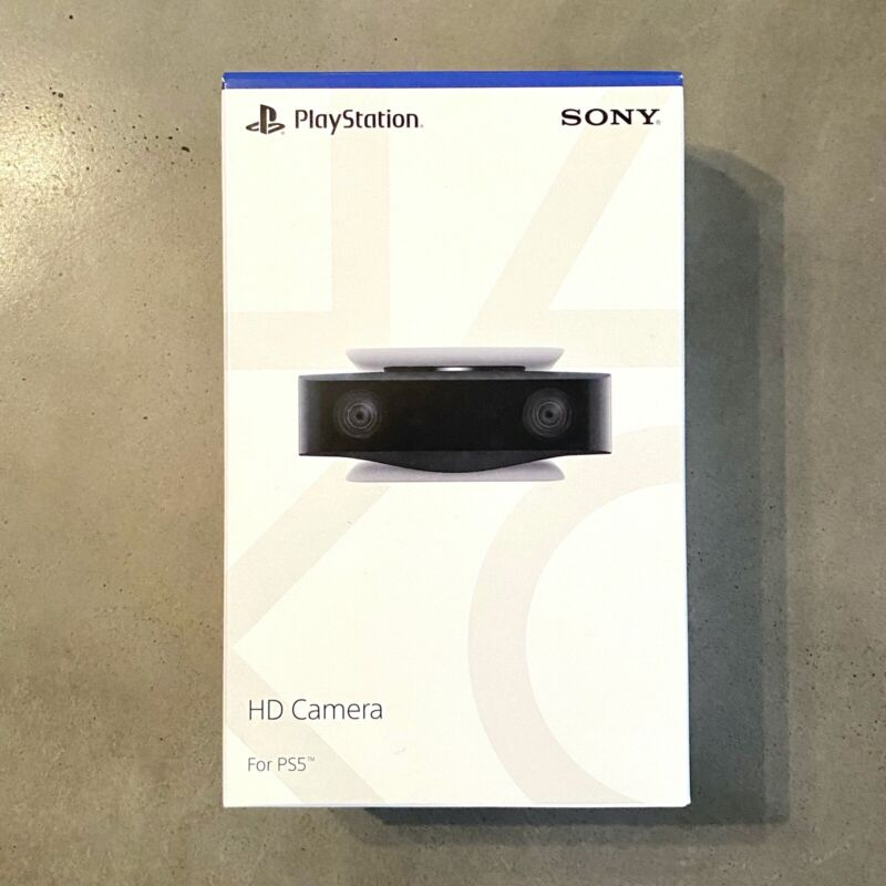 PS5 HD Camera Sony PlayStation 5 Camera Factory - Sealed, Brand New in Box