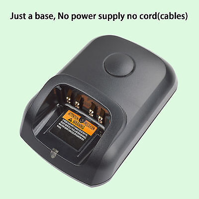 Only Shabby no power supply for Motorola DP3600 Walkie Talkie Battery Charger