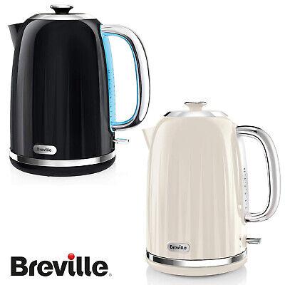 Breville Impressions Collection 1.7L Fast Boil Kettle Black White VKJ738 VKJ755