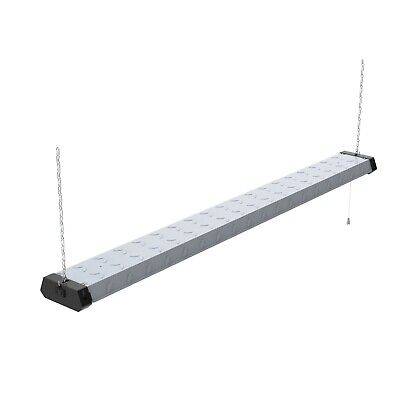 4FT LED Shop Light Heavy Duty Linkable Fixture 5500lm Bright White Work Garage