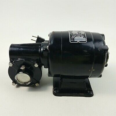 Bodine Electric Co. Angle Pully Gear Speed Reducer Motor 115 Volt Nsi - 34rh
