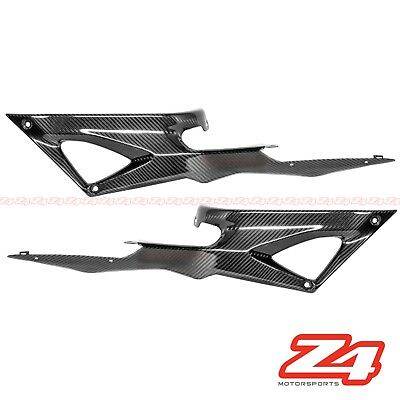 (Ducati 848 1098 1198 Gas Tank Side Trim Cover Panel Fairing Cowling Carbon Fiber)