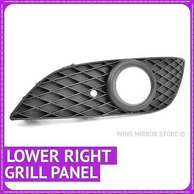 For Vauxhall Astra H Front Bumper Grille Trim Bezel Left with Fog lamp cover