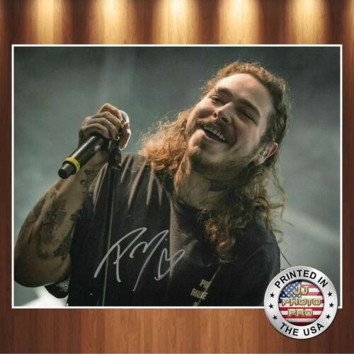 Post Malone Autographed Signed 8x10 Photo REPRINT