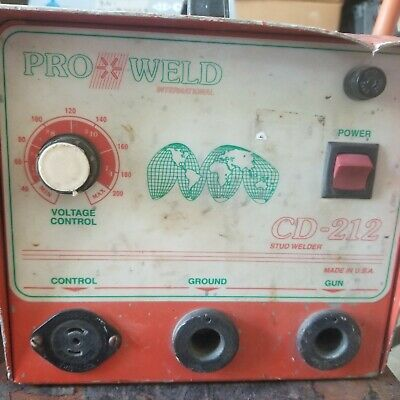 Pro Weld International Cd 212 Stud Pin Welder Cd-212