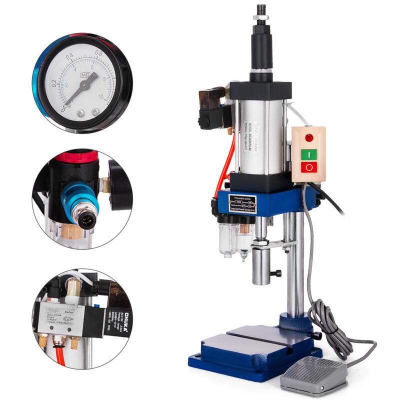 Top-Grade 110V Vertical Pneumatic Punch Press Machine Pneumatic Milling Machine