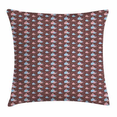 Ocean Whale Throw Pillow Cases Cushion Covers Home Decor 8 S