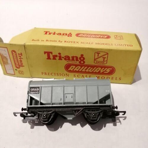 Tri-ang - T.171 Bulk Grain Wagon B85040 Black Number Pad - TT