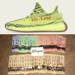 BUYING ALL FROZEN YELLOW YEEZY V2's