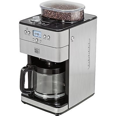 Kenmore Elite 12-Cup Stainless Nerve Coffee Machine Grinder Maker Brewer 239401