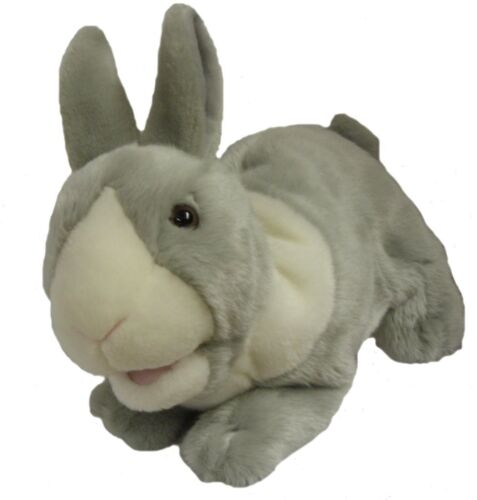 Rabbit+Puppet+Ventriloquist.Play.Educational.+moving+mouth+and+squeaker