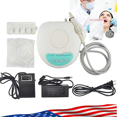 Touch Dental Ultrasonic Piezo Scaler Scaling Handpiece Teeth Clearing Fit Ems Ce