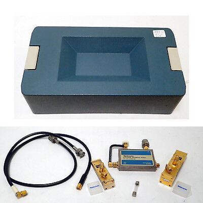 Tektronix Wm490 -2 Opt 21 Waveguide Mixer Kit 18-40ghz Spectrum Analyzer 492 494