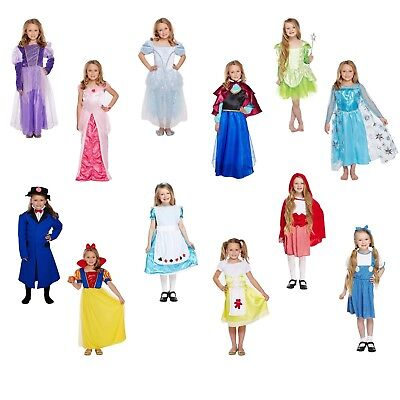 Girls Fancy Dress Costume Child Outfit Dressing Up Party World Book Day NEW - Girls Dressing Up Dresses