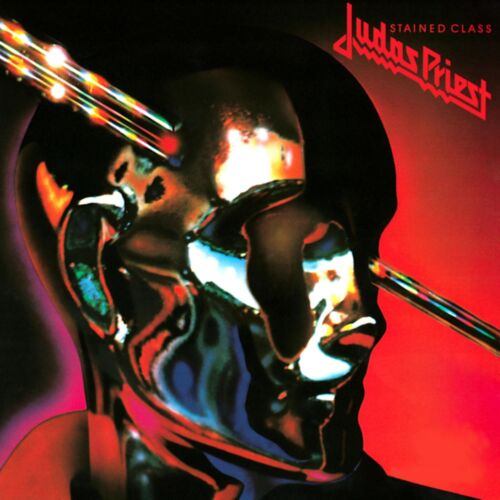 JUDAS PRIEST Stained Class BANNER HUGE 4X4 Ft Fabric Poster Tapestry Flag art