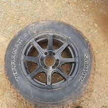 Car rim rim and tyre Port Wakefield Wakefield Area Preview