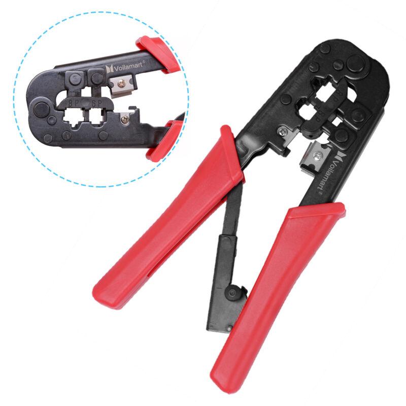RJ45 Crimping Tool Ethernet Network LAN Cable Crimper Cutter tool Stripper Plier