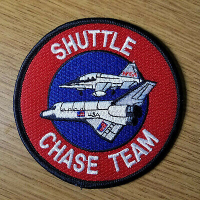 4 Inches Team Patch (NASA Shuttle Chase Team Patch 4 inches)