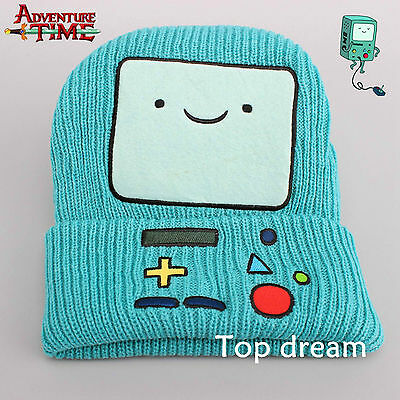 Adventure Time with Finn and Jake Beemo BMO Beanie Plush Hat Costume Cosplay Cap - Jake Adventure Time Costume