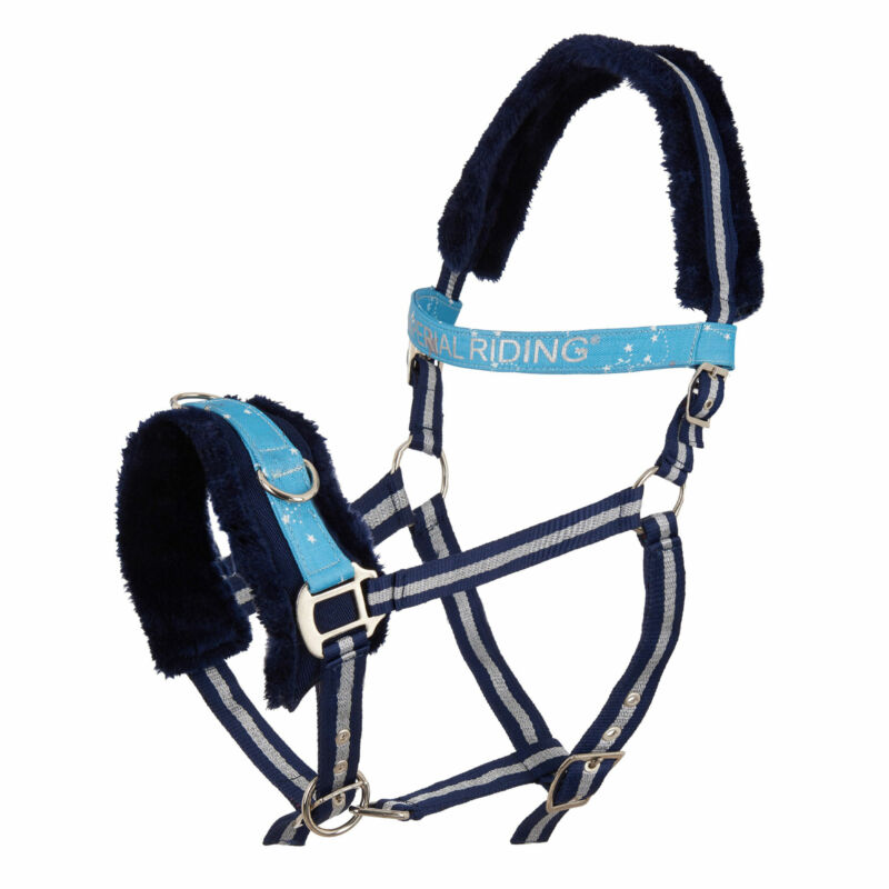 Imperial Riding Ambient Soft Star Unisex Saddlery Lunge Cavesson - Blue Dancer