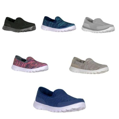 Athletic Works Women's Memory Foam Pick Color Slip-on Sneake