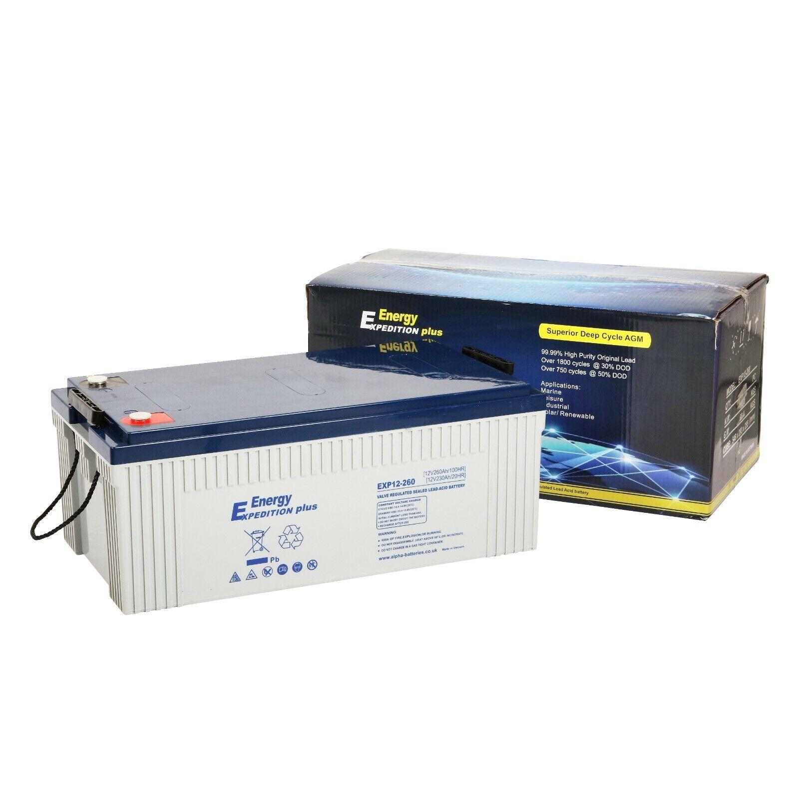 Batería de almacenamiento solar Expedición Plus de 260AH