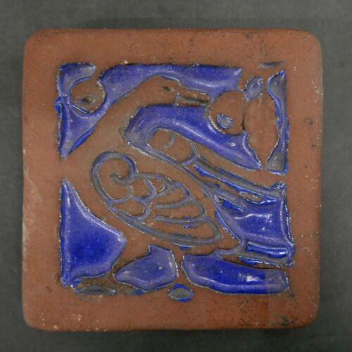 Vintage Herman Mueller Bird Tile