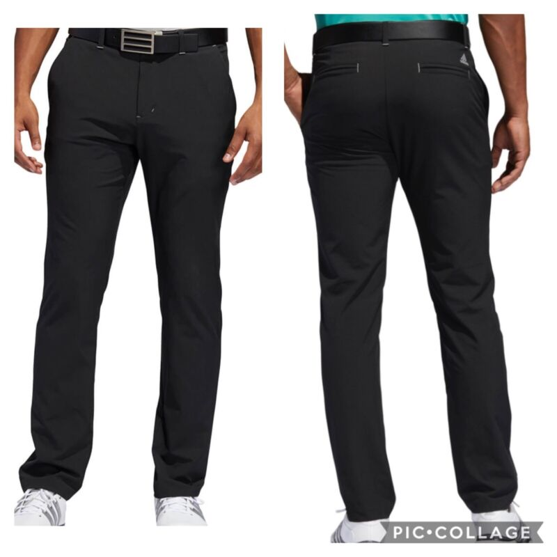 NEW! Adidas Ultimate365 Tapered Golf Pants - Black - Pick Size