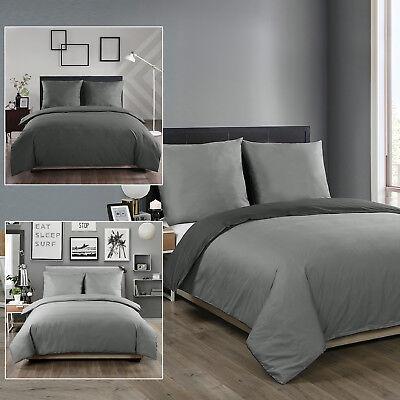 Bettwäsche 100% Baumwolle Bettbezug Bettgarnitur 135x200/155x220/200x200cm