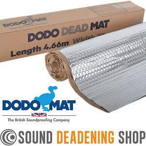 Dodo Dead Mat Hex Car Sound Deadening 4.66m Bulk Roll Vibration Proofing Mat